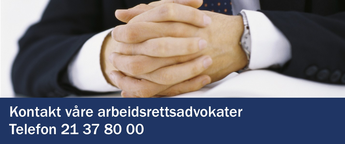 Arbeidsrettsadvokater