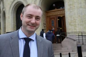Arbeidsminister Robert Eriksson Foto: Reynir Johannesson/FrP
